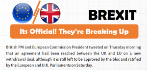Brexit: Its Official! They're Breaking Up