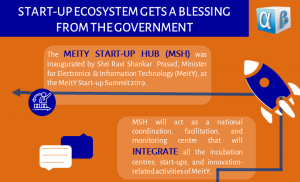 Start-up Ecosystem gets a Blessing from the Government