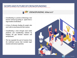 Scope and Future of Crowdfunding