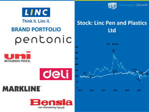 LINC PENS AND PLASTICS LIMITED