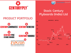 CENTURY PLYBOARDS INDIA LIMITED