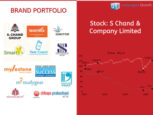 S CHAND & COMPANY LIMITED
