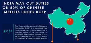 India May Cut Duties on 80% of Chinese Imports Under RCEP