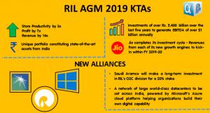 RIL AGM 2019 KTAs