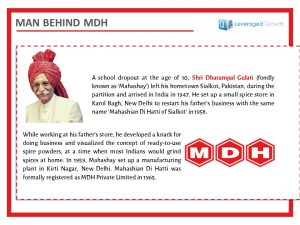 The Man behind MDH
