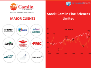 CAMLIN FINE SCIENCES LIMITED